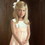 portrait of girl in pink 2